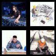 4 Pics 1 Word 8 Letters Answers Engineer