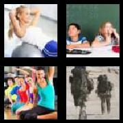 4 Pics 1 Word 8 Letters Answers Exercise