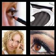 4 Pics 1 Word 8 Letters Answers Eyeliner