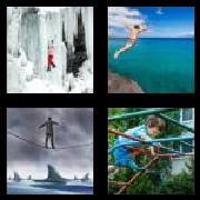 4 Pics 1 Word 8 Letters Answers Fearless