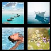 4 Pics 1 Word 8 Letters Answers Floating