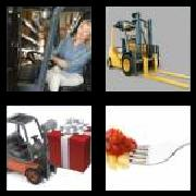 4 Pics 1 Word 8 Letters Answers Forklift