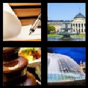 4 Pics 1 Word 8 Letters Answers Fountain