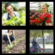 4 Pics 1 Word 8 Letters Answers Gardener