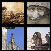 4 Pics 1 Word 8 Letters Answers Gargoyle