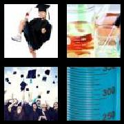 4 Pics 1 Word 8 Letters Answers Graduate