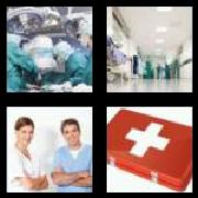 4 Pics 1 Word 8 Letters Answers Hospital