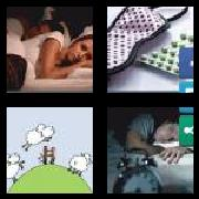 4 Pics 1 Word 8 Letters Answers Insomnia