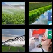 4 Pics 1 Word 8 Letters Answers Irrigate