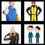 4 Pics 1 Word 8 Letters Answers Jumpsuit
