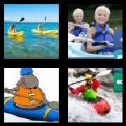 4 Pics 1 Word 8 Letters Answers Kayaking