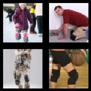 4 Pics 1 Word 8 Letters Answers Kneepads