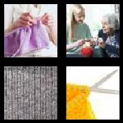 4 Pics 1 Word 8 Letters Answers Knitting