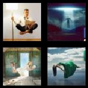 4 Pics 1 Word 8 Letters Answers Levitate