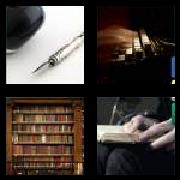 4 Pics 1 Word 8 Letters Answers Literary
