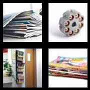 4 Pics 1 Word 8 Letters Answers Magazine