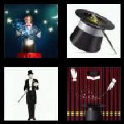 4 Pics 1 Word 8 Letters Answers Magician