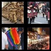4 Pics 1 Word 8 Letters Answers Marching