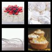 4 Pics 1 Word 8 Letters Answers Meringue