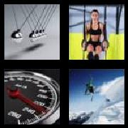 4 Pics 1 Word 8 Letters Answers Momentum