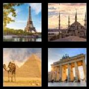 4 Pics 1 Word 8 Letters Answers Monument