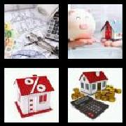 4 Pics 1 Word 8 Letters Answers Mortgage