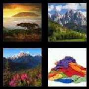 4 Pics 1 Word 8 Letters Answers Mountain