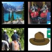 4 Pics 1 Word 8 Letters Answers Mounties