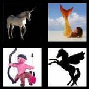 4 Pics 1 Word 8 Letters Answers Mythical
