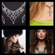 4 Pics 1 Word 8 Letters Answers Necklace