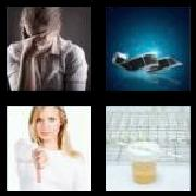 4 Pics 1 Word 8 Letters Answers Negative