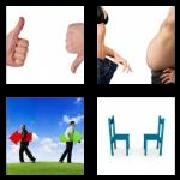 4 Pics 1 Word 8 Letters Answers Opposite
