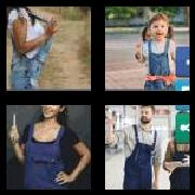 4 Pics 1 Word 8 Letters Answers Overalls