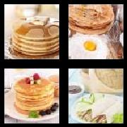 4 Pics 1 Word 8 Letters Answers Pancakes