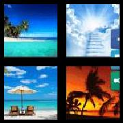 4 Pics 1 Word 8 Letters Answers Paradise