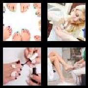 4 Pics 1 Word 8 Letters Answers Pedicure