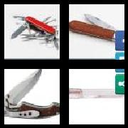4 Pics 1 Word 8 Letters Answers Penknife