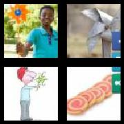 4 Pics 1 Word 8 Letters Answers Pinwheel