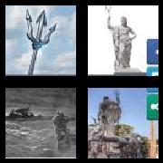 4 Pics 1 Word 8 Letters Answers Poseidon