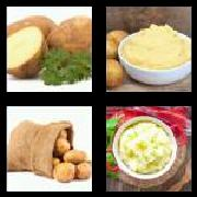 4 Pics 1 Word 8 Letters Answers Potatoes