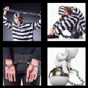 4 Pics 1 Word 8 Letters Answers Prisoner