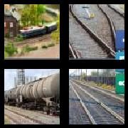4 Pics 1 Word 8 Letters Answers Railroad