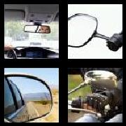 4 Pics 1 Word 8 Letters Answers Rearview