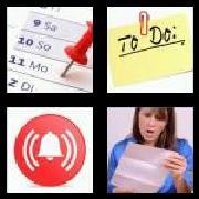 4 Pics 1 Word 8 Letters Answers Reminder