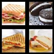 4 Pics 1 Word 8 Letters Answers Sandwich