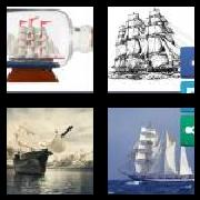 4 Pics 1 Word 8 Letters Answers Schooner