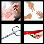 4 Pics 1 Word 8 Letters Answers Scissors