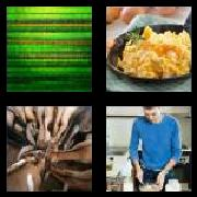 4 Pics 1 Word 8 Letters Answers Scramble