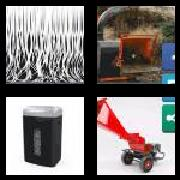 4 Pics 1 Word 8 Letters Answers Shredder