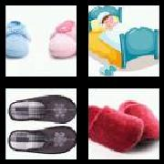4 Pics 1 Word 8 Letters Answers Slippers